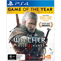 The Witcher 3 III Wild Hunt Game of the Year Edition Playstation 4 PS4 Hunting