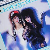 "N.MINT 1985 JAPAN PROMO STRAWBERRY SWITCHBLADE LET HER GO 7"" VINYL ROSE McDOWALL"