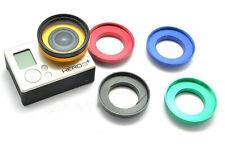 37mm Aluminum UV Lens Filter Ring Adapter For GoPro HD Hero 3+ 3 Sport Cameras