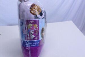 "Frozen Anna Elsa Microfiber Plush Throw 46"" x 60"""