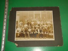 JA114 Vintage 11x14 Matted Photo St.Louis Workers Rubber Boots Aprons Butchers?