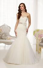 Essense of Australia Wedding Dress: Style D1541 (Street Size 10-12)