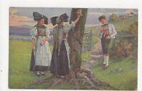 Schwarzwaelder Leben Fr Reiss Vintage Postcard Germany 395a