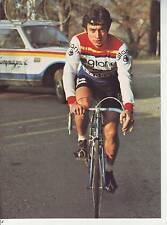 CYCLISME carte cycliste HUBERT ARBES équipe GITANE CAMPAGNOLO