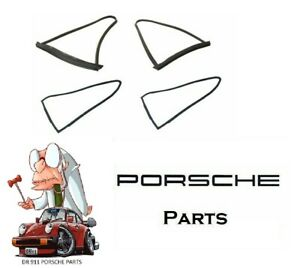PORSCHE 911 912 REAR QUARTER WINDOW SEAL KIT MOVABLE 90154319120 90154390120 901