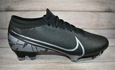 Nike Mercurial Vapor 13 Pro FG Soccer Cleats Black [AT7901-001] Men's Size 7