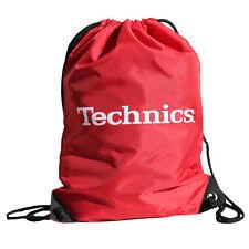 DMC DJ - Technics Wax-Sac - Multi Purpose Drawstring Bag - New - Classic Red