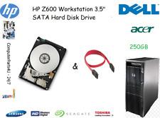 "250GB HP Z600 Workstation 3.5"" SATA disco duro (HDD) de reemplazo/UPGRADE"