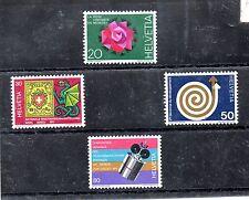 Suiza Series del año 1971 (BD-670)