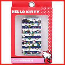 Hello Kitty Apple iPhone 4 i Phone 4S Case Hard Case Cover Town Neighborhood