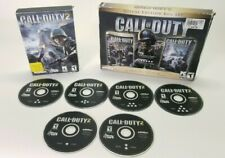 Call Of Duty 1, 2, Expansion Pack PC Game 2005 United Offensive Box Set