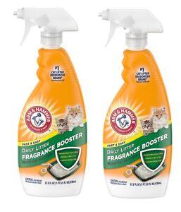 Multi Cat Litter Box Fragrance Booster Odor Neutralizer 21.5 oz - 2 PACK ✔️✔️✔️