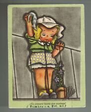 1941 Spain to Blue Division Soldier Russian Front WW 2 Postcard Cover Germany