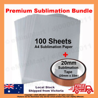 Quality A4 Dye Sublimation Paper & Heat Resistant Thermal tape for Heat Transfer