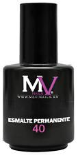 Emaille Permanente Nummer / N° 40 Schwarz MV NAILS 100% professionell Mevinails