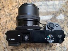 Sony Alpha A6000 24.3MP Digital Camera - Black with MANY extras - Never Used