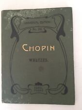 Chopin  Walzer Valses  Waltzes. Number 341 Pugno, Raoul