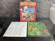 TSR Gamma World Adventure Booklet / Basic Rules Booklet with Map (7010)