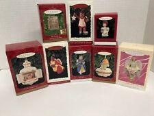 8 Hallmark Keepsake Ornament Collector Series Christmas Angel Nativity Children