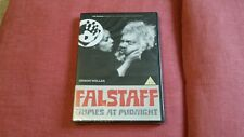 Falstaff Chimes At Midnight DVD Orson Welles Brand New & Sealed
