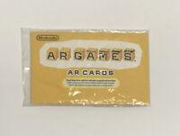 Nintendo 3DS AR Games AR Cards ~ Never Used