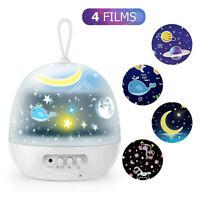 Magic LED Light Projector Star Moon Sky Baby Kid Night Mood Lamp Christmas Gift