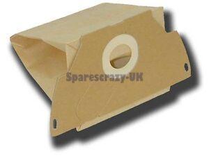 Para Electrolux Mondo EF44 Z1190E Bolsas de Papel para Aspirador 5 Paquete