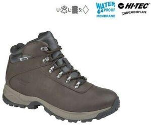 Hi-Tec Walking Hiking Boots Eurotrek Lite Leather Mens Ladies RRP £79.99