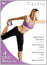 DVD - Exercise - Cardio 4-DVD Workout Set - Janis Safell -Sensei Guillermo Gomez