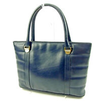Salvatore Ferragamo Tote bag Navy Woman Authentic Used T3747