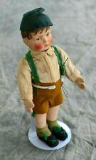 Antique Gerbruder Bing German Cloth Doll, Circa 1910
