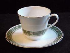 Royal Doulton Fine Bone China Dinnerware Rondelay Pattern Cup & Saucer H5004