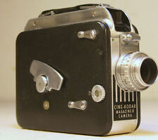Cine-Kodak 8mm Movie Camera 1940's 1950's Art Deco GVC Magazine 8 Camera Vintage