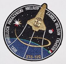 Ricamate patch spaziale NASA sts-120 dello Space Shuttle Discovery... a3109
