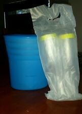 Tupperware wine cooler champagne flutes wine glasses new in pack can post