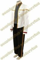Star Trek Insurrection Nemesis White Gold Mess Cosplay Uniform Costume Halloween