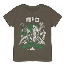 Loot Crate White Green Ranger POWER RANGERS Tee Shirt (XL) EXCLUSIVE LootCrate