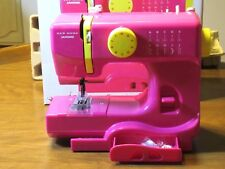 Janome New Home Fast Lane Fuchsia Sewing Machine,  Model Sew Mini DX
