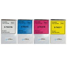 4 Toner Cartridges (Set) for Brother DCP-L8400CDN, HL-L8250CDN, MFC-L8650CDW
