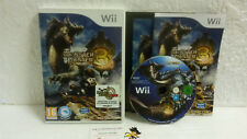 Jeu Vidéo Monster Hunter 3 TRI Complet VF Wii U VF Nintendo Original Capcom RPG
