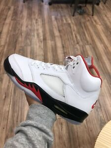 air jordan 5 fire red 2020 Size 10 Worn Once Og All