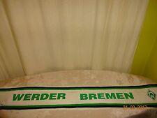 """Werder Bremen Original Fan Schal 80iger Jahre """"WERDER BREMEN"""" RARITÄT"""