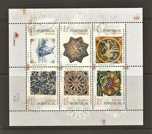PORTUGAL - 1999 - BLOCK - Azulejos da Madeira - MNH