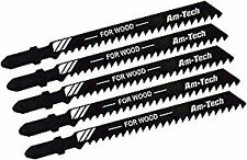 Am-tech M1600 Wood Jigsaw Blade Set (5-Piece)