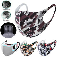 Unisex Fashion Washable Reusable Breathable Mouth Face Mask Cover For Adult Kids