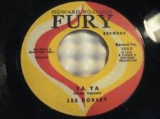 "LEE DORSEY Ya Ya/ Give Me You~NORTHERN SOUL~POPCORN~ORIG 1961 FURY 1053~7"" 45RPM"