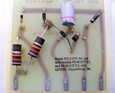 (2) Lutron Fluorescent Control Card Module FCC-1-277 for FD-40-277 & FD-80-277