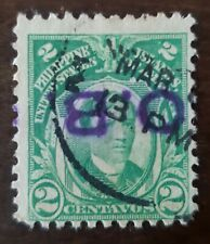 PHILIPPINES STAMP HAND STAMPED inverted  B.O. .used hinged