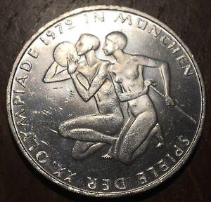 PIECE DE 10 DEUTSCHE MARK 1972 EN ARGENT (265) JEUX OLYMPIQUES
