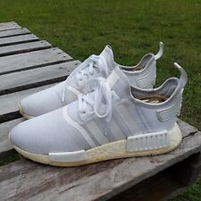 Adidas NMD Triple White Mens Size 8.5 Women's Size 10.5 Ultra Boost